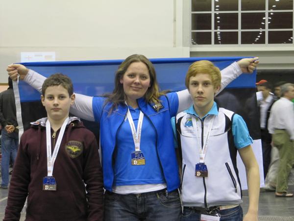 2011. a. esimesed Euroopa meistrid selgunud
