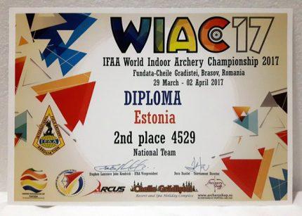 WIAC 2017 tõi hulgaliselt medaleid