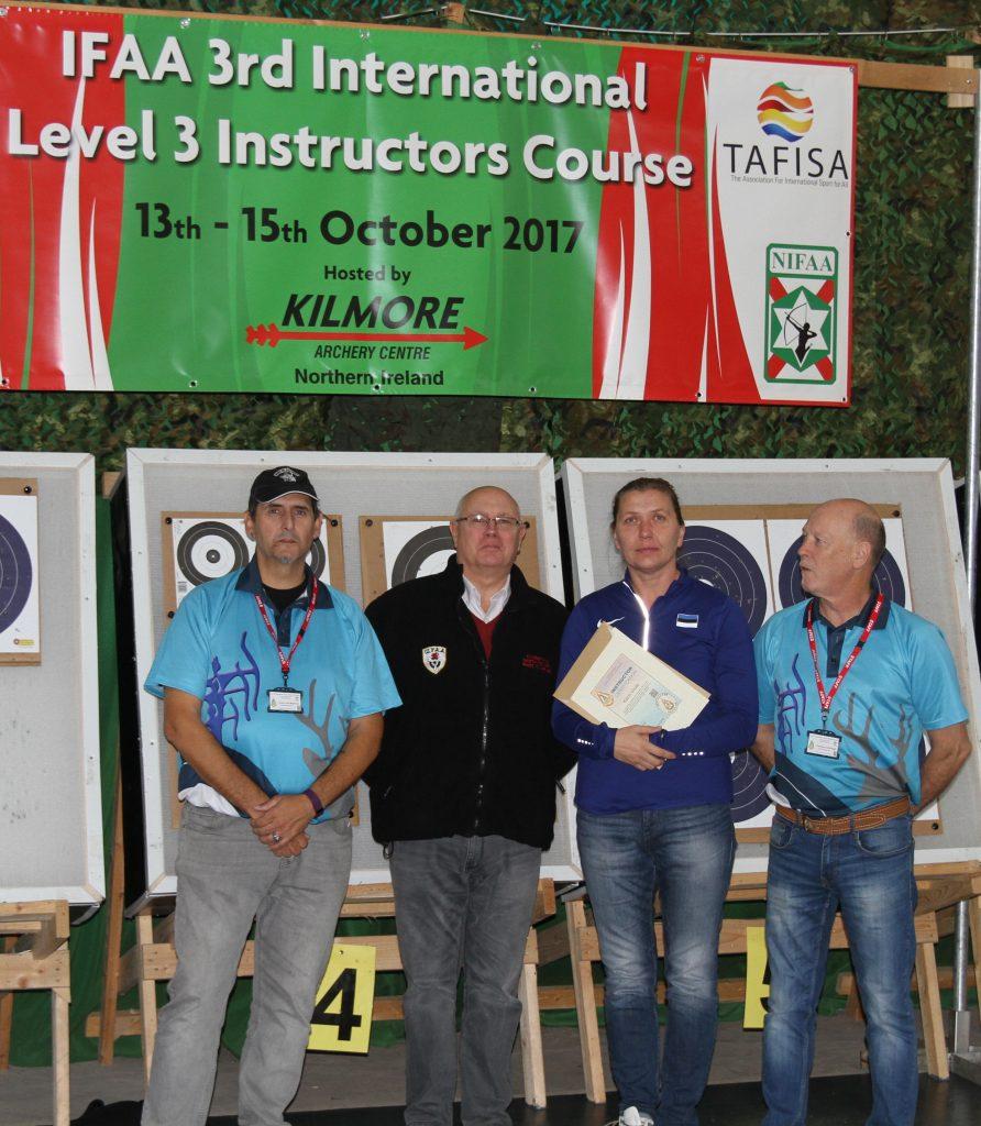 Iirimaal toimus IFAA Level 3 instruktorite koolitus