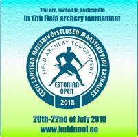 Eesti maastikulaskmise meistrivõistlused / Estonian Open 2018