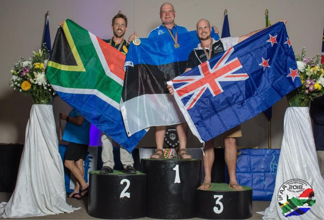 Pärnumaale tuli maastikuvibu maailmameistrivõistlustelt kuld- ja hõbemedal
