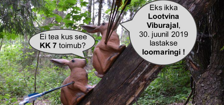Klubide Karika 7. etapp loomaring – 30. juunil Lootvina viburajal, Põlvamaal