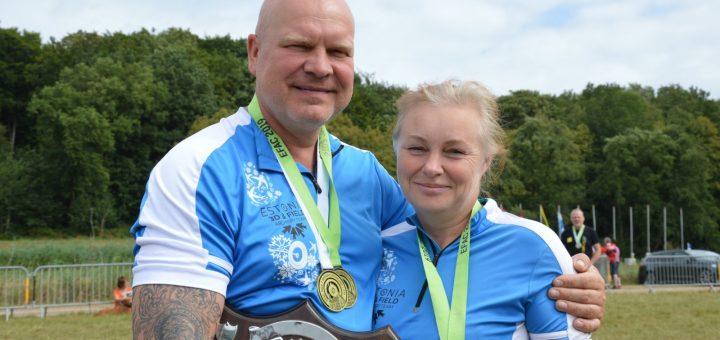 Lääne Vibulaskjad tulid Euroopa meistrivõistlustelt medalitega